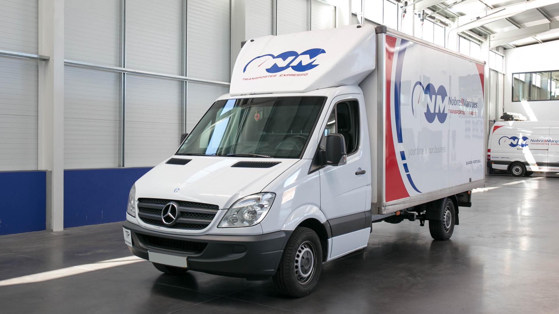 Mercedes Sprinter De Caixa Box