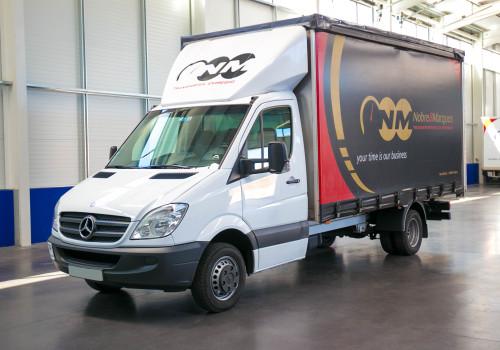 Mercedes Sprinter Caixa Tipo Lona
